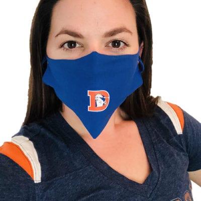 Denver Broncos Face Masks 5-pack
