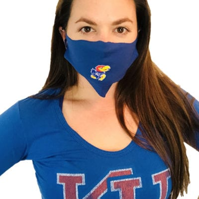 KU Face Masks 5-pack