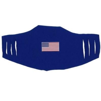 American Flag Face Masks 5-pack