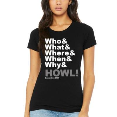 wwwww.HOWL! T-shirt