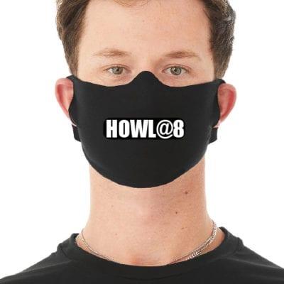 HOWL@8 Face Masks 5-pack