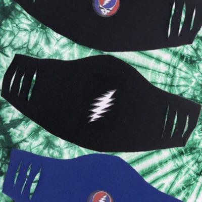 Grateful Dead SYF Face Masks 5-pack
