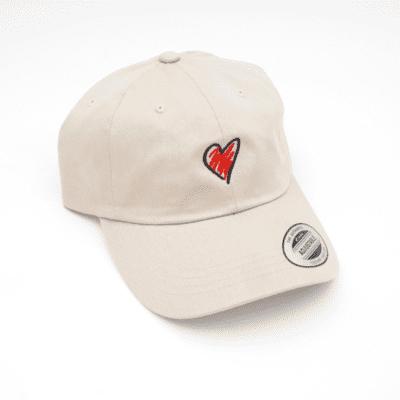 Heart Sketch Hat